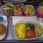Airplane meals and decadence
