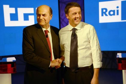 Renzi and Bersani
