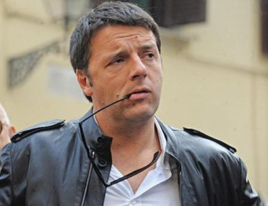Matteo Renzi perplexed