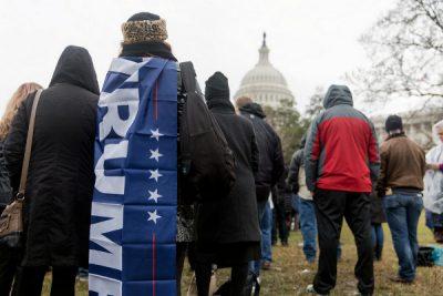 People attending Trump's Presidential Inauguration