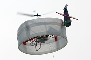 early prototype of the Osaka University UAV
