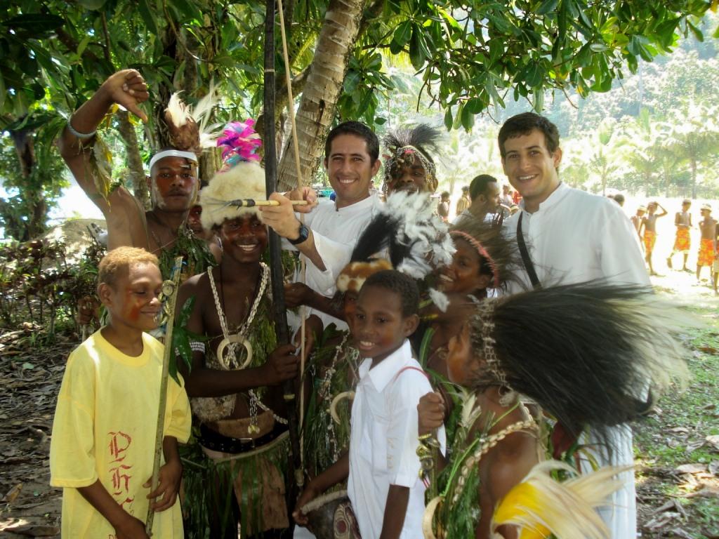 Missionari cattolici, Papua Nuova Guinea